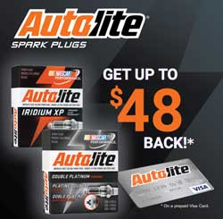 NAPA Autolite Spark Plug Offer