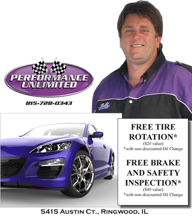 Free Tire Rotation / Brake Inspection
